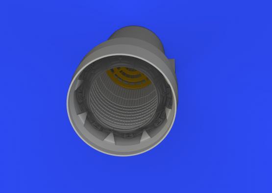Crusader exhaust nozzle 1/48  - 2