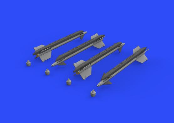 AIM-9G/H Sidewinder 1/48  - 2