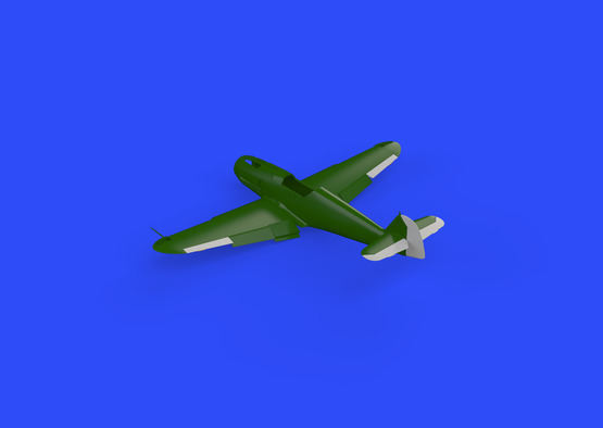 Bf 109G control surfaces 1/48  - 2