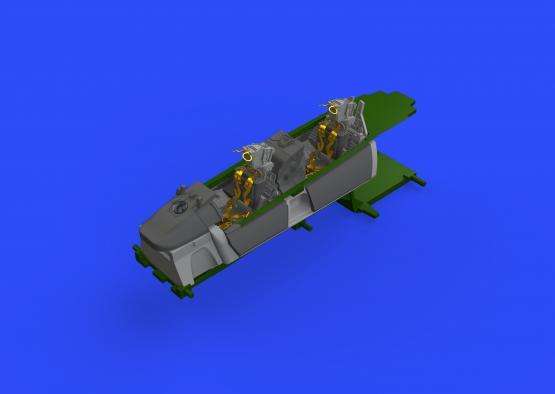F-14A kokpit 1/48  - 2
