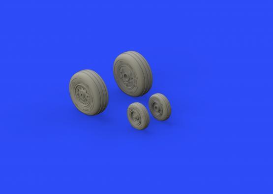 F-4J wheels 1/48  - 2