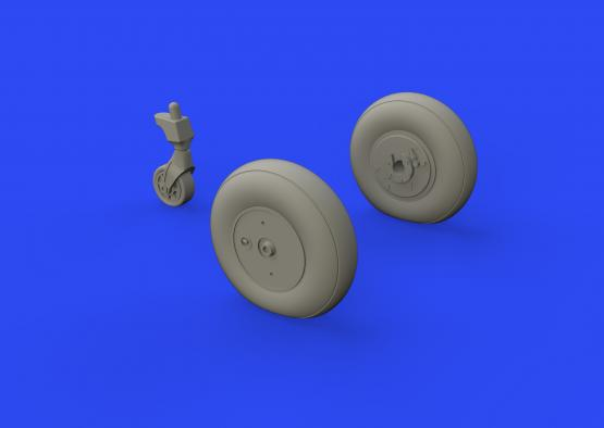 Ki-61-Id wheels 1/48  - 2