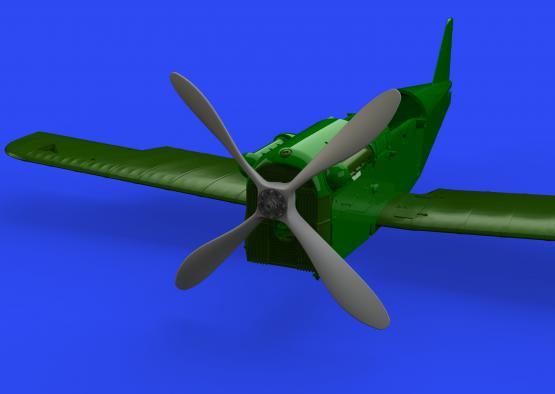 SE.5a propeller four-blade 1/48  - 2