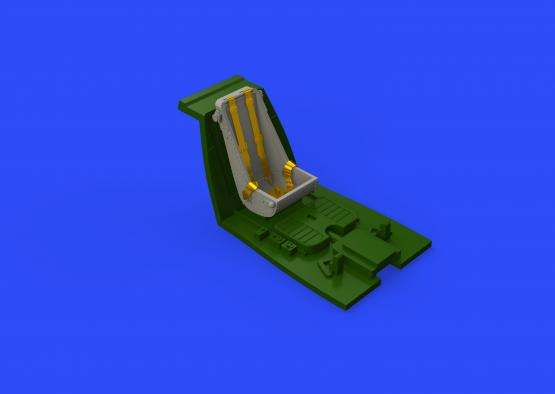 Bf 109F seat early 1/48  - 2