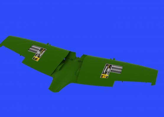 Spitfire Mk.IXe gun bays 1/48  - 2