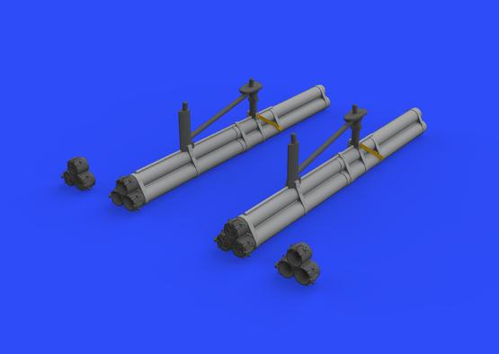 Bazooka raketnice pro P-51D 1/48  - 2