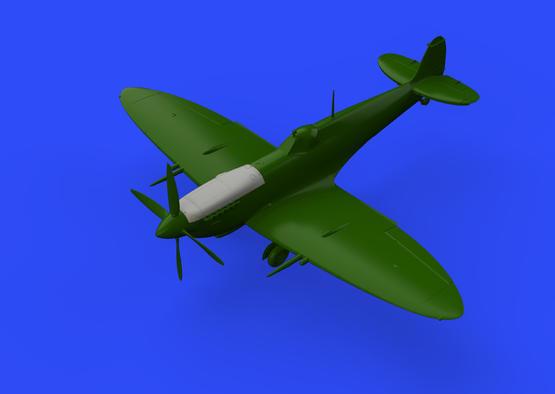 Spitfire Mk.VIII kryt motoru 1/48  - 2