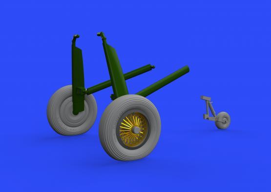 Walrus Mk.I wheels 1/48  - 2