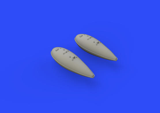 P-51D 75gal fuel tanks 1/48  - 2