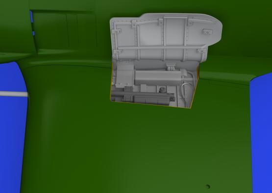 Fw 190A zbraňové šachty v kořenu křídla 1/48  - 2