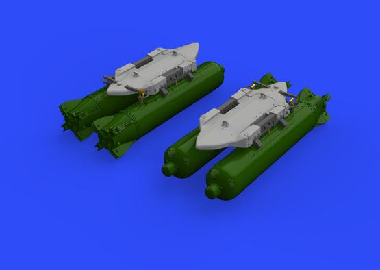 BRU-57A závěsník 1/48  - 2