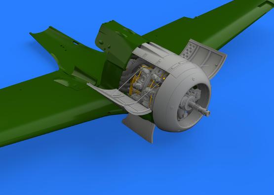 Fw 190A-3 двигатель 1/48  - 2