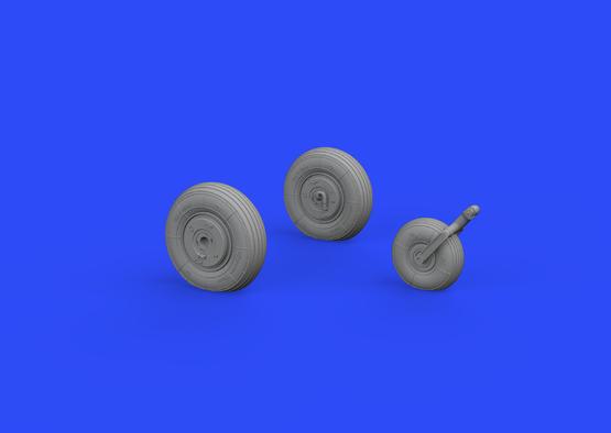 L-29 wheels 1/48  - 2