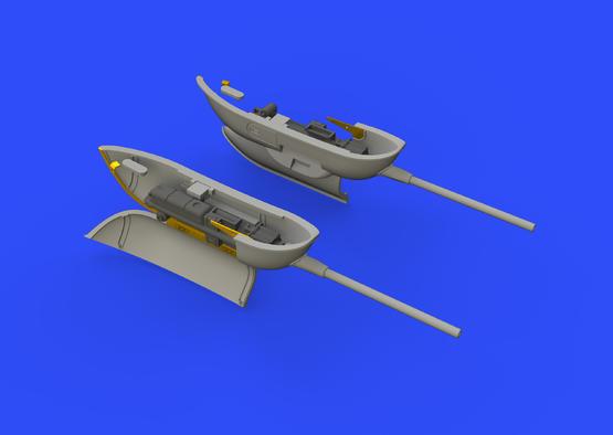 Bf 109G gun pods 1/48  - 2