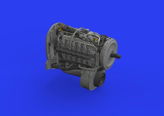 Tempest Mk.V двигатель 1/48  - 2