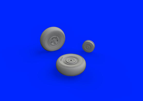 Tempest Mk.V wheels early 1/48  - 2