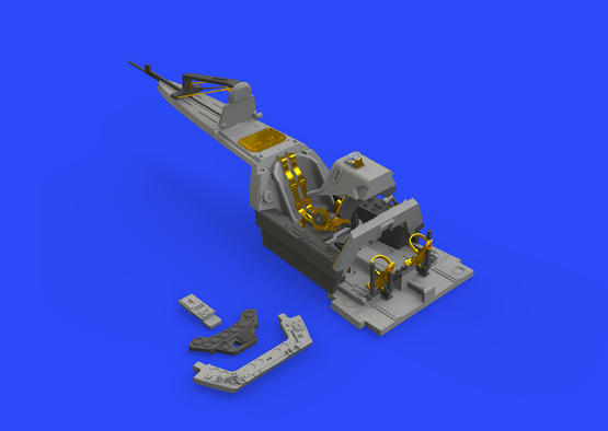 Fw 190A-8/R2 cockpit 1/48  - 2