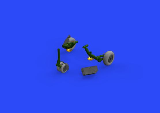 MiG-23ML wheels 1/48  - 2