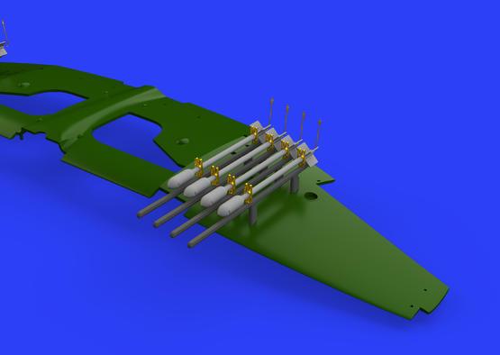 RP-3 60lb rakety pro Tempest Mk.V 1/48  - 2