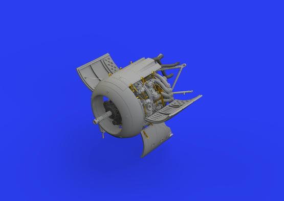 Fw 190A-8 двигатель 1/48  - 2