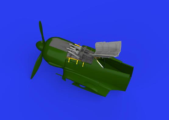 Fw 190A-8 фюзеляжное вооружение 1/48  - 2