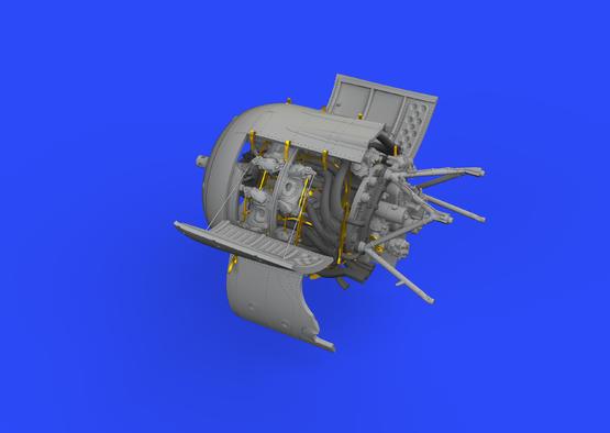 Fw 190A-8/R2 двигатель 1/48  - 2