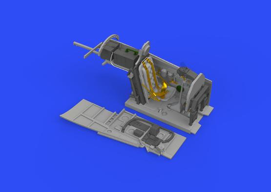 P-51D кабина 1/48  - 2
