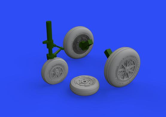 F-104 wheels late 1/48  - 2