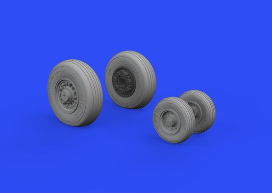 F-14D wheels 1/48  - 2