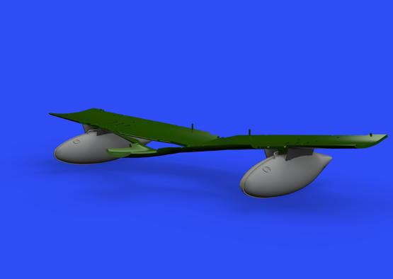P-51D 165gal fuel tank 1/48  - 2