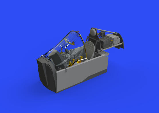 P-38G кабина 1/48  - 2