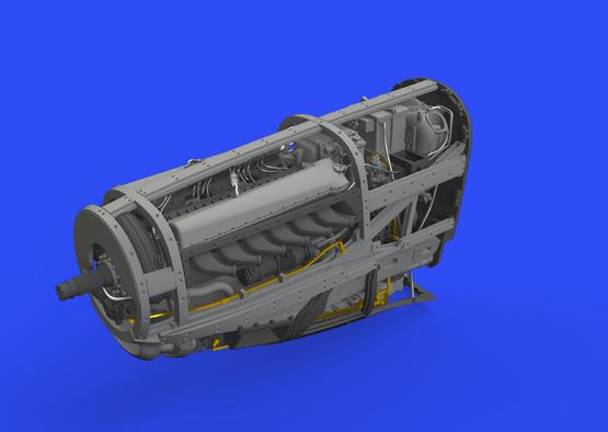 P-51D engine 1/48  - 2