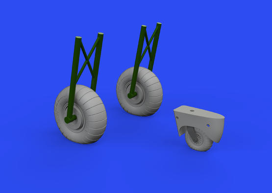 Do 17Z wheels 1/48  - 2