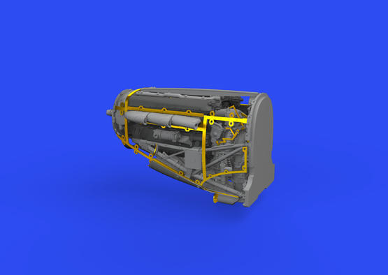 Spitfire Mk.II engine 1/48  - 2