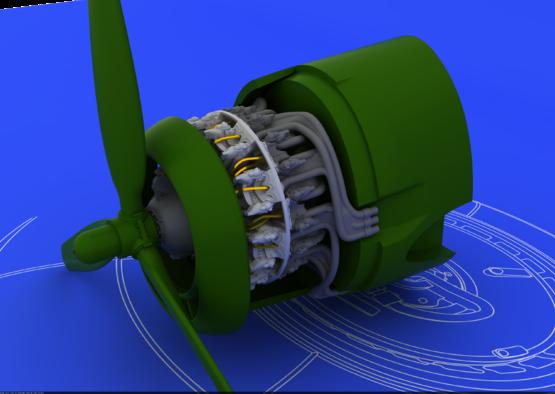 R-2800-10 エンジン 1/72  - 2