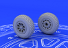 P-51 wheels 1/72 - 2/3