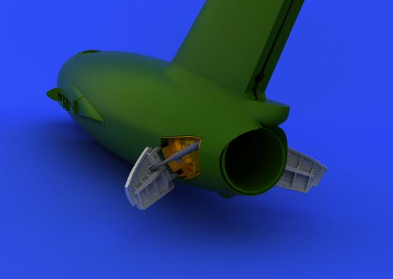 MiG-15bis スピードブレー キ 1/72  - 2