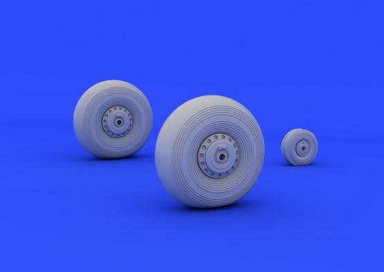 Lancaster wheels 1/72  - 2