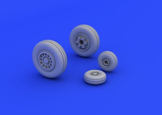 JAS-39 wheels 1/72  - 2