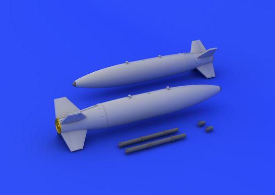 Mk.84 бомбы с воздушным тормозом 1/72  - 2