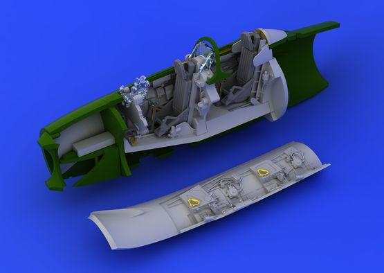 UTI MiG-15 kokpit 1/72  - 2