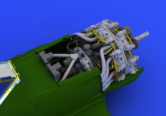 Fw 190A-8 engine 1/72  - 2