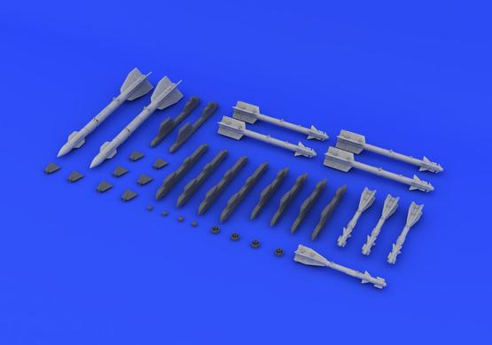 MiG-29A weapons set 1/72  - 2