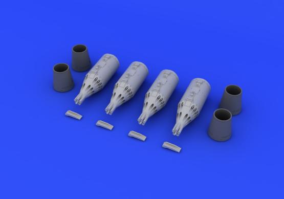 UB-32 rocket pods 1/72  - 2