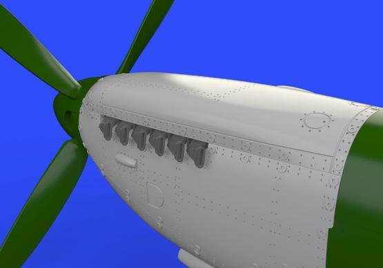 Spitfire Mk.IX двигатель 1/72  - 2