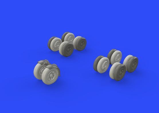 Victor wheels 1/72  - 2