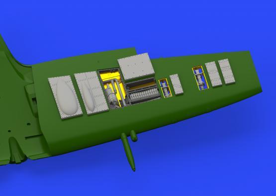 Spitfire Mk.IXc gun bays 1/72  - 2