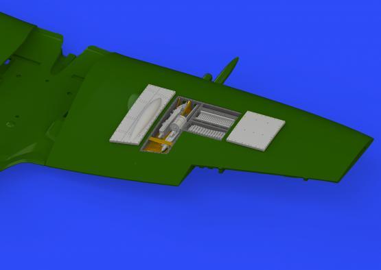 Spitfire Mk.XVI gun bays 1/72  - 2