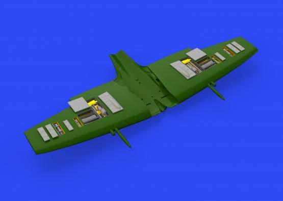 Spitfire Mk.VIII gun bays 1/72  - 1