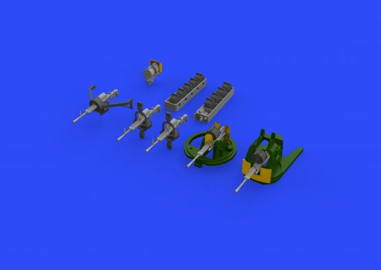 H8K2 Emily пулемёты 1/72  - 2